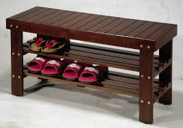 furniture for shoes. Amazon.com: Roundhill Furniture Pina Quality Solid Wood Shoe Bench, Cherry Finish: Home \u0026 Kitchen For Shoes