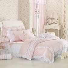cute bed comforters. Wonderful Comforters FADFAY Cute Pink Polka Dot Bedding Sets Rustic Girls Duvet Cover Set  Comforter Intended Bed Comforters O
