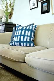 a genius idea to quickly and easily fix sagging sofa cushions with new foam fieldcourt