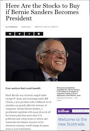 bernie sanders for president. 20160309_1853 here are the stocks to buy (fortune).jpg if bernie sanders becomes president for