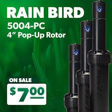 Rain Bird 5004 Pc 4inch Adjustable Arc Rotor For Sprinkler