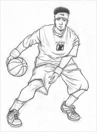 Basketball Drawing Pictures 18 Fantastic Basketball Drawings To Download Free Premium