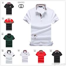 Polo Shirts Luxury European Designer T Shirt Mens Womens Couple Lightning Symbol Fashion Brand Casual Tee White Blue