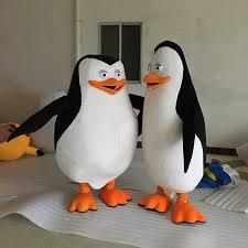 Adult Novelties Animal <b>Mascot Costume</b> madagascar penguins ...