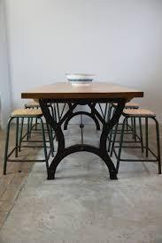 Image Metal Vintage Industrial Dining Table Pamono Vintage Industrial Dining Table For Sale At Pamono
