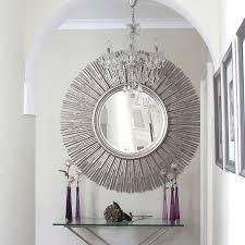 ... Sun Decorative Mirror Adding the Decorative Wall Mirrors for  Eye-Catching Room Design Decor ...