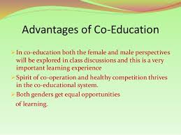 co education by waseem abbas 16 advantage of co education ldquo