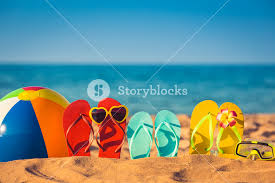 Beach ball in sand My Cute Graphic Flipflops Beach Ball And Snorkel On The Sand Summer Vacation Concept Youtube Flipflops Beach Ball And Snorkel On The Sand Summer Vacation