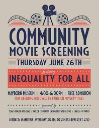 Movie Flyer Genre Analysis Of Movie Screening Posters Gwen's Digital Blog 20