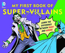 image dc super heroes board book my first book of super villains