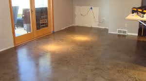 Concrete Kitchen Floor The Iconi Home A Custom Concrete Kitchen Floor