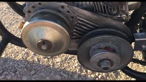 How To Install A Torque Converter Belt For A Go Kart And A Mini Bike