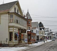 the chester village historic district has a collection of victorian and federal style buildings