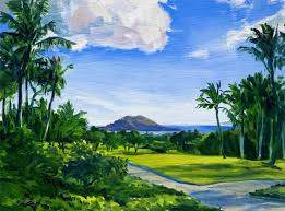 us 600 00 in art direct from the artist paintings hawaii landscapemaui