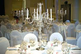 table chandelier centerpiece pieces lot crystal