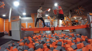 Big Air Trampoline Park Madness We Were Fighting Youtube