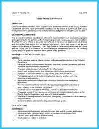 Probation Officer Resume Pin On Resume Template Pinterest 13
