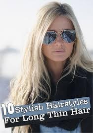 long hairstyles fine hair