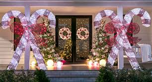 Large Candy Cane Decorations Christmas Decor for Front Porches 49