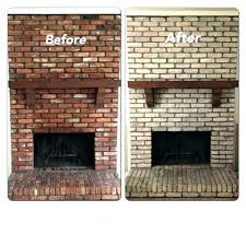 fireplace brick cleaner best way to clean how do you a fireplaces indoor home depot inside