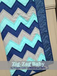 Zig-Zag Baby Quilt Â« Moda Bake Shop & A perfectly sized 36″ x 48″ quilt for the modern baby in your life. Adamdwight.com