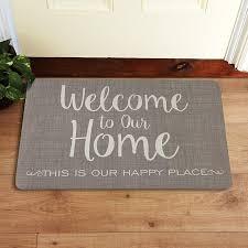 personalized front door matsPersonalized Doormats  Welcome Mats  Personal Creations