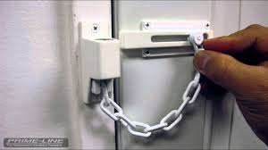 Door Lock Chain Keyed Chain Door Lock Youtube