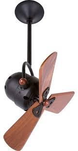 matthews fan company bianca directional ceiling fan black wood bd bk wd