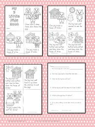 Fairy Tale Reading Comprehension - 3 Little Pigs Activity