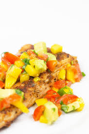 blackened mahi mahi with mango salsa in ...