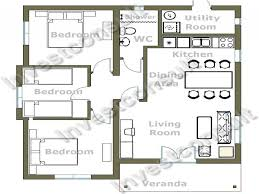 small 3 bedroom house floor plans 2 bedroom house layouts small building plan mexzhousecom