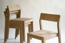 furniture  superb modern wooden dining chair designs soft brown