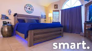 High Tech Bedroom Epic Smart Home Bedroom Tech Tour Youtube