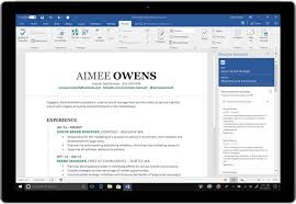 Best home office software Layout Craft Your Best Resume With Resume Assistant Powered By Linkedin Computerworld Word Help Office Support