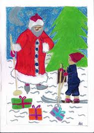 Winning Christmas Card Designs For Mary Stevens Hospice Competition
