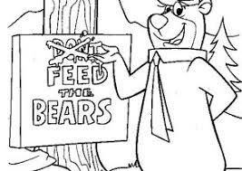 Get your free printable yogi bear coloring pages at allkidsnetwork.com. Yogi Bear Coloring Pages Page 4 Of 4 Coloring4free Com
