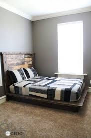 Easy DIY Platform Bed | Easy To Build DIY Platform Beds Perfect For Any Home
