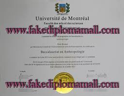 i want to buy universite de montreal bachelor degree from  universite de montreal degree