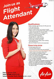 fly gosh thai air asia cabin crew recruitment open day thailand