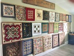 """Mini Quilt Show…Mini Quilt Wall… 