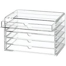 image is loading sold out muji acrylic case 5 drawers multipurpose