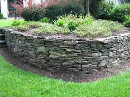Small Picture Natural Stone Garden Wall Walls Retaining Wall Installation