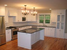 Kitchen Cabinet Door Finishes Modern Silvery Stove In Kitchen With White Painted Finishing