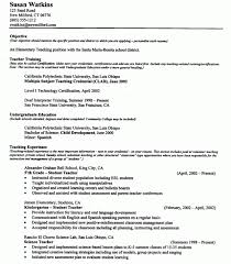 Teacher Resume Examples Teacher Resume Tips And What To State