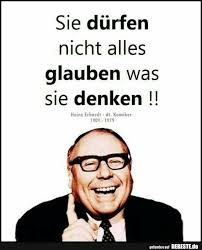 Sie Dürfen Nicht Alles Glauben Was Sie Denken Heinz Erhart