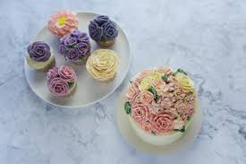 Cake Art Design Rouse Hill Buttercream Piping Flower Art Cake Decoration Workshop A1