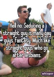 Straight and gay guy