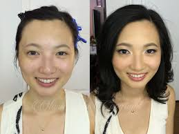 asian before and after makeup video