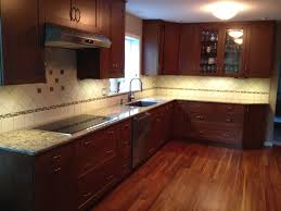 Garden Web Kitchen Dark Cherry Kitchen Cabinets Wallpaper For All