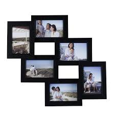 best picture collage frames for decor ideas mellanco 6 photo black collage frame picture